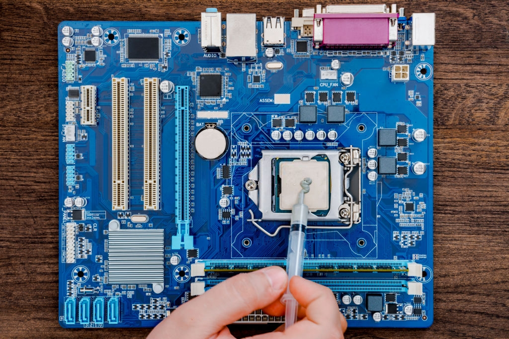 thermal compound on cpu