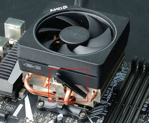 Removing Stock AMD Cooler