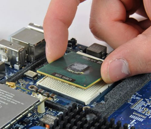 Grabbing Processor from the edges
