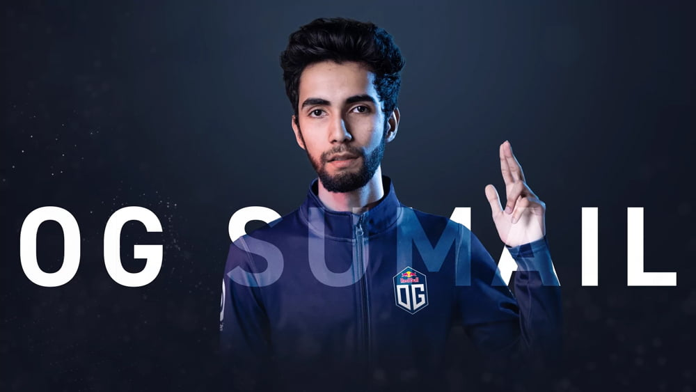 Sumail 'Suma1L' Hassan has joined Team OG!