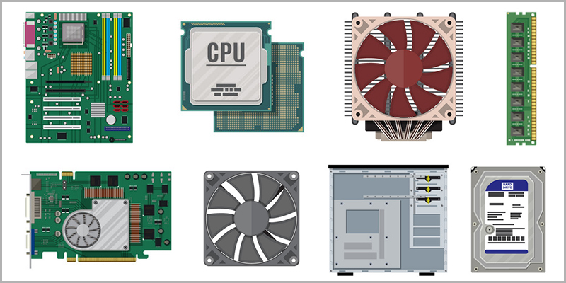 PC Components Lists