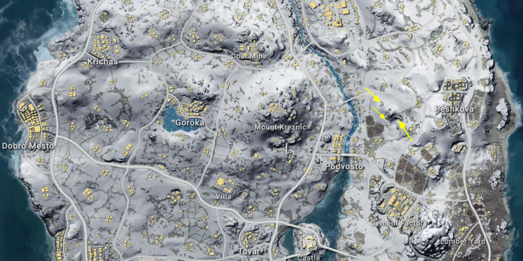 PUBG's Famous Vikendi Map is all set to Come Back With Some New Features