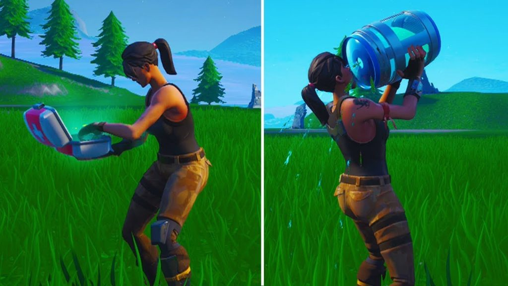 Consumables in Fortnite