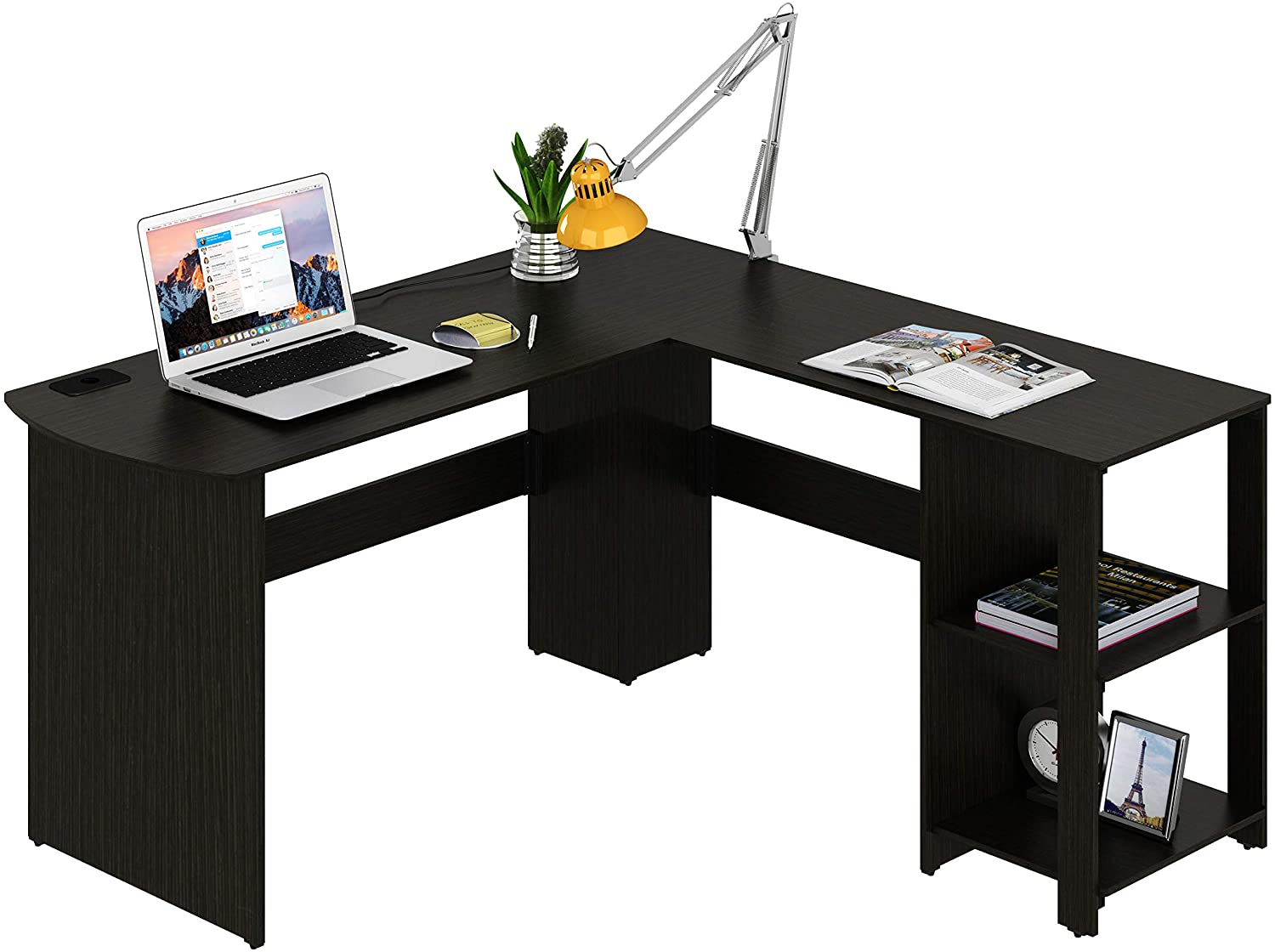 SHW L-Shape Corner Desk