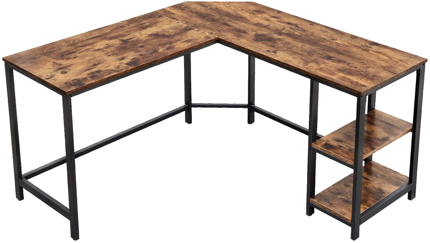 Easy to Assemble, Attractive Metal Desk
