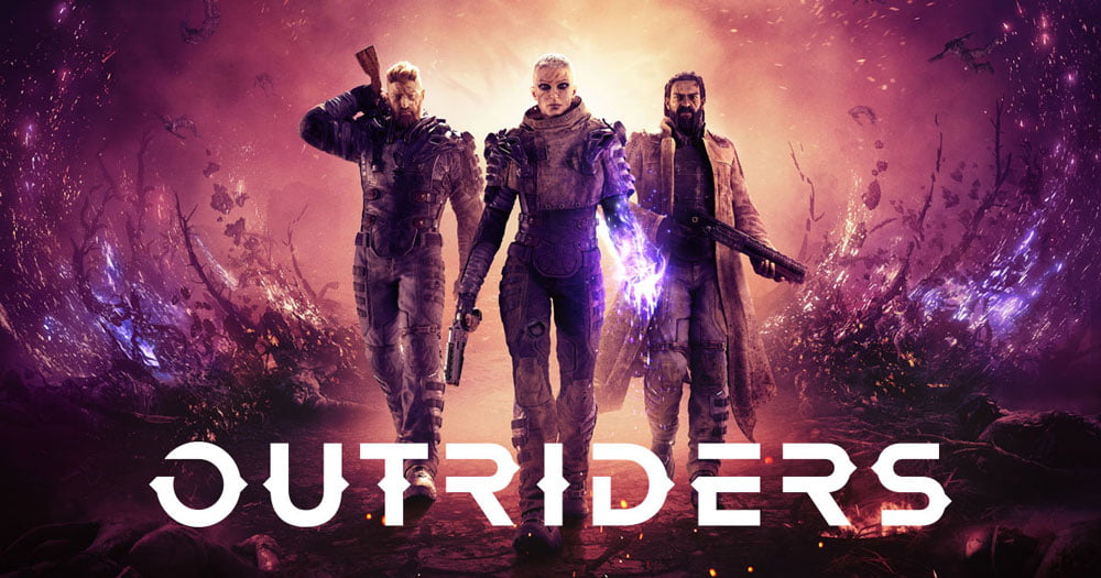 Upcoming outriders third person shooter